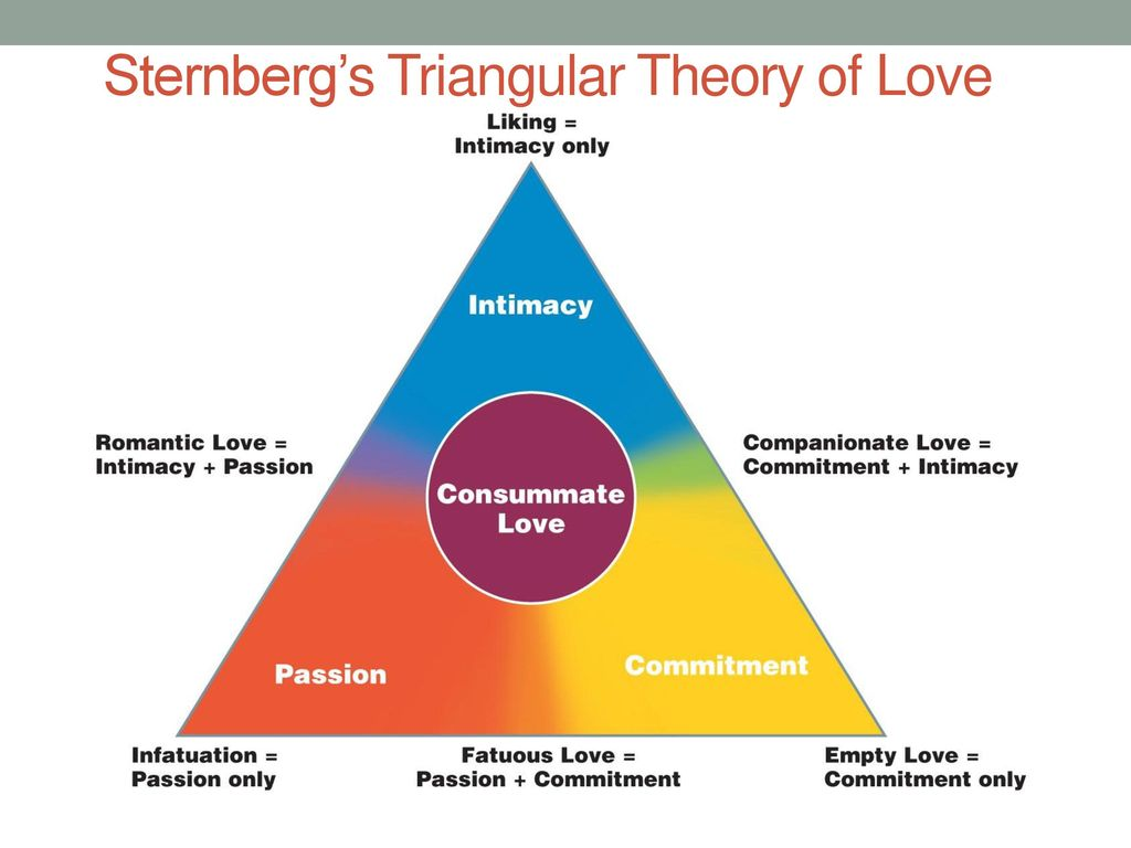 Sternbergs triangular theory of love