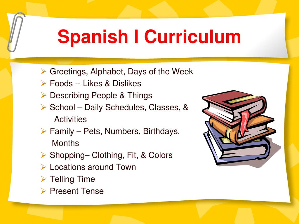 Your Kids Spanish Goals Ppt Download