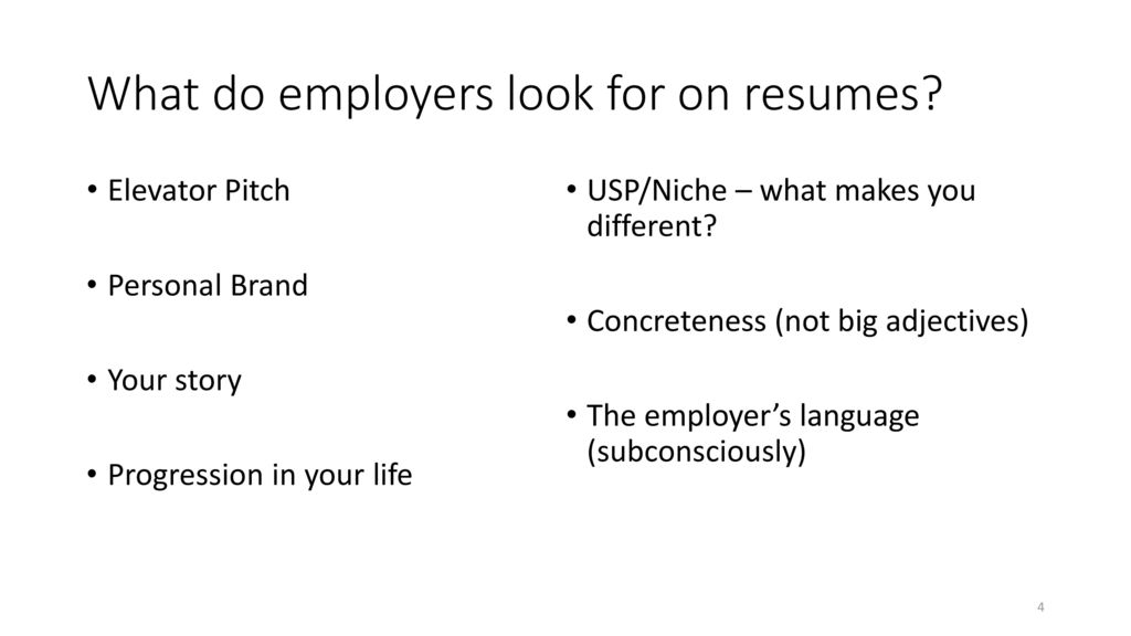Resume Overview & Interview Process - ppt download