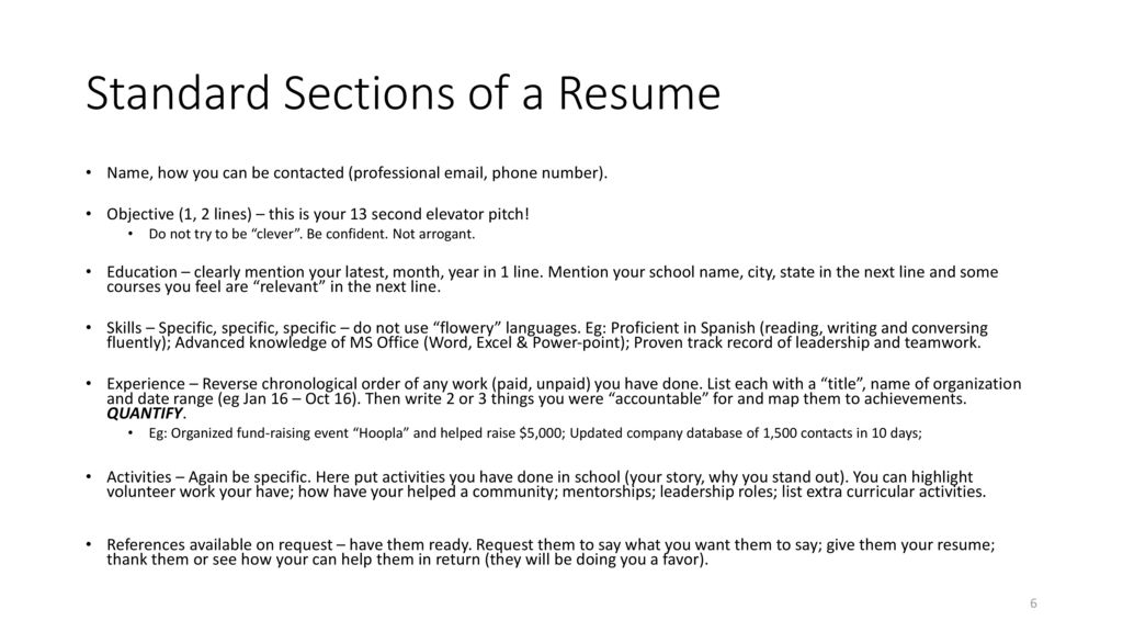 Resume Overview Interview Process Ppt Download