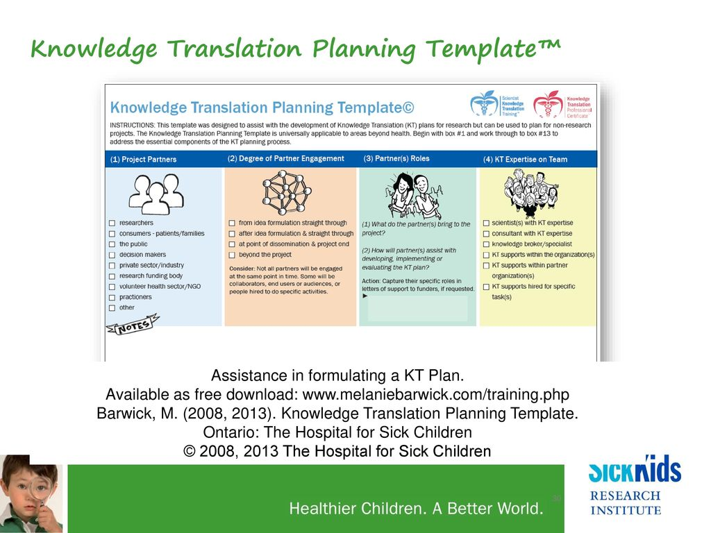 Building Capacity in Knowledge Translation: - ppt video online download