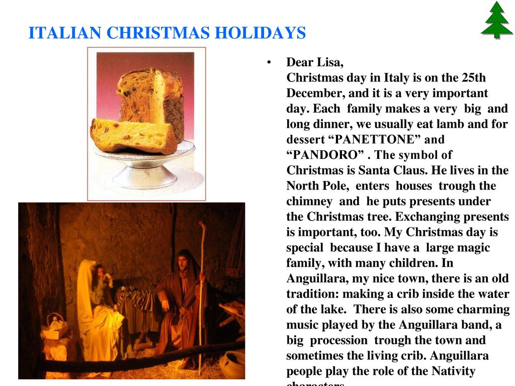 Italian Christmas traditions - ppt video online download
