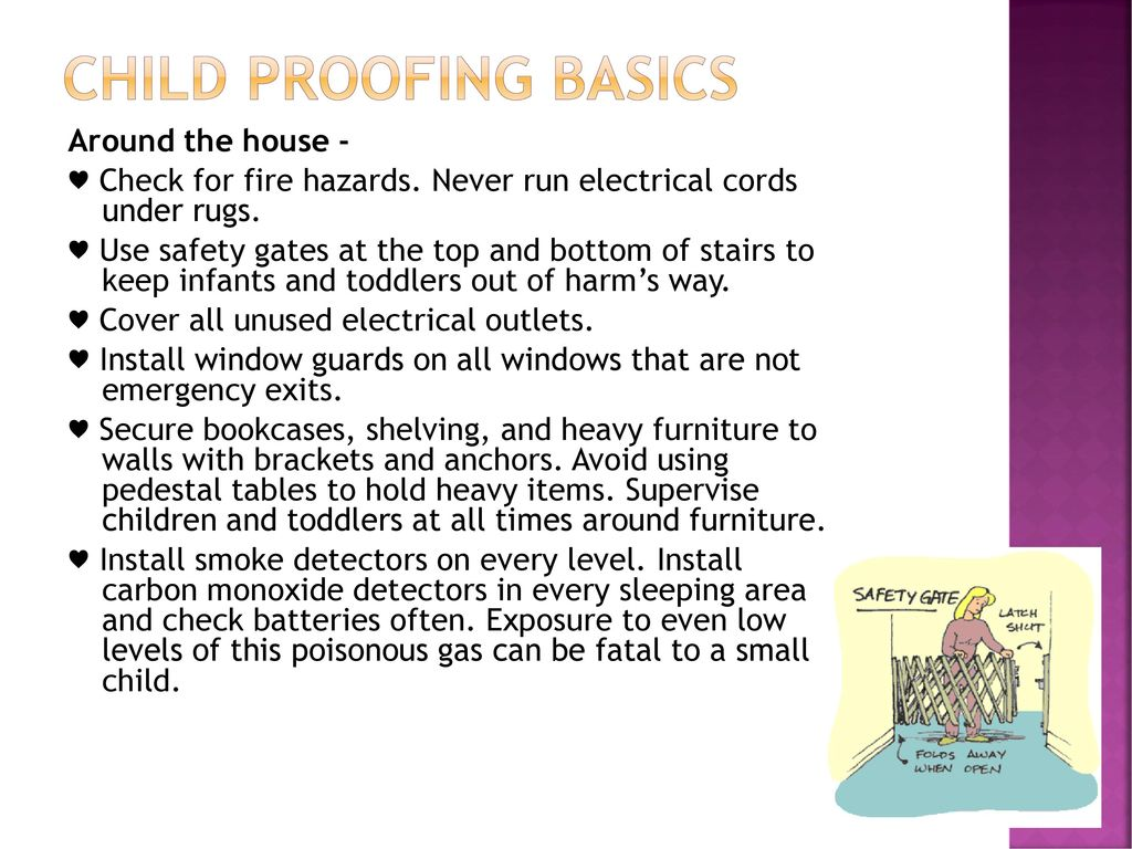 Safety – Child proofing at home - ppt download