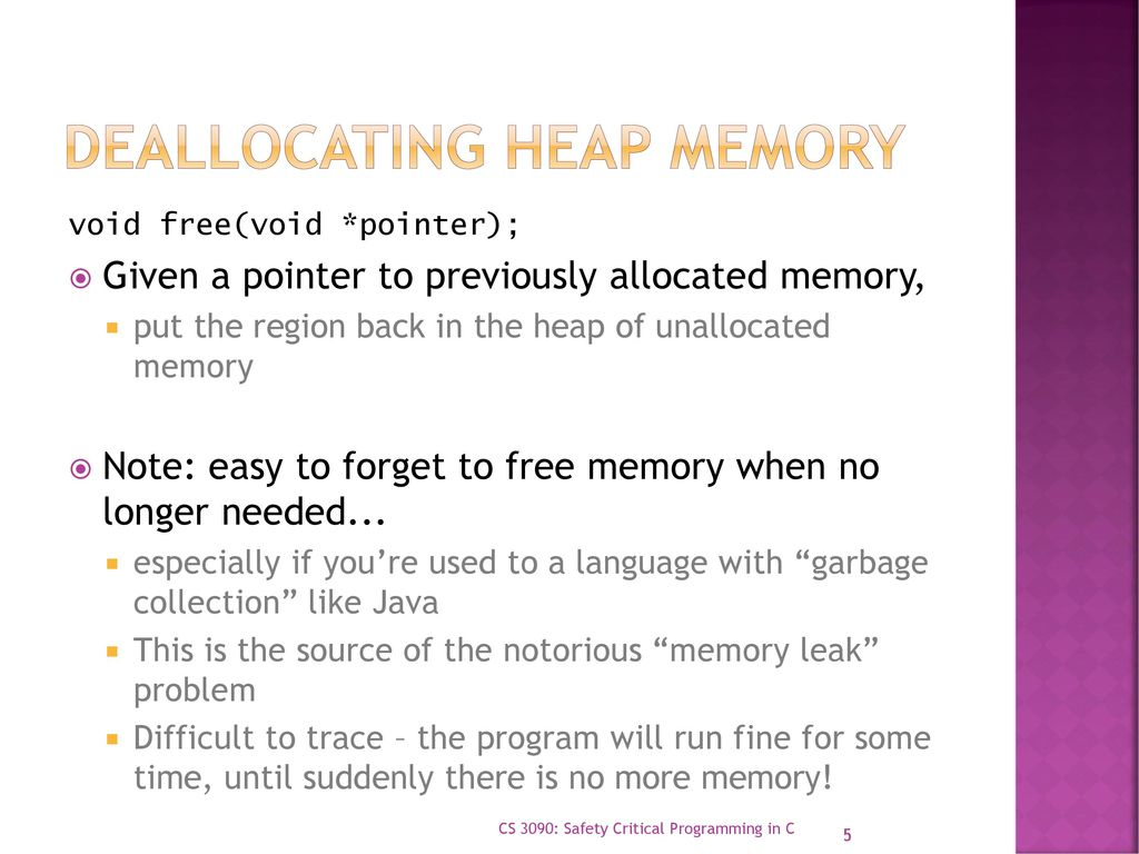 Overview of memory management - ppt download