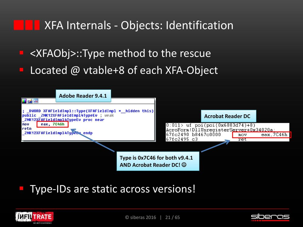 Abusing the Reader's embedded XFA engine for reliable