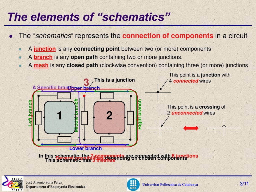 Learning In Electronic Circuits Ppt Download Schematics The Elements Of