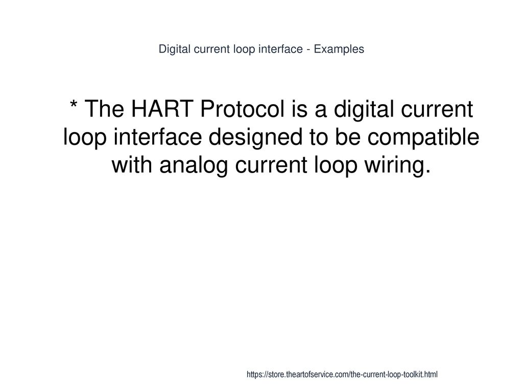Current Loop Ppt Download In Wiring Digital Interface Examples