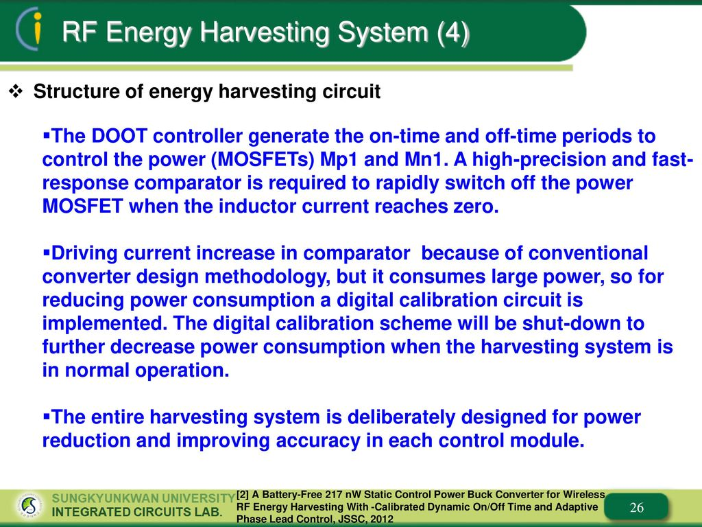 A Design Of Energy Harvesting System And Circuits Ppt Download High Power Buck Converter 26 Rf