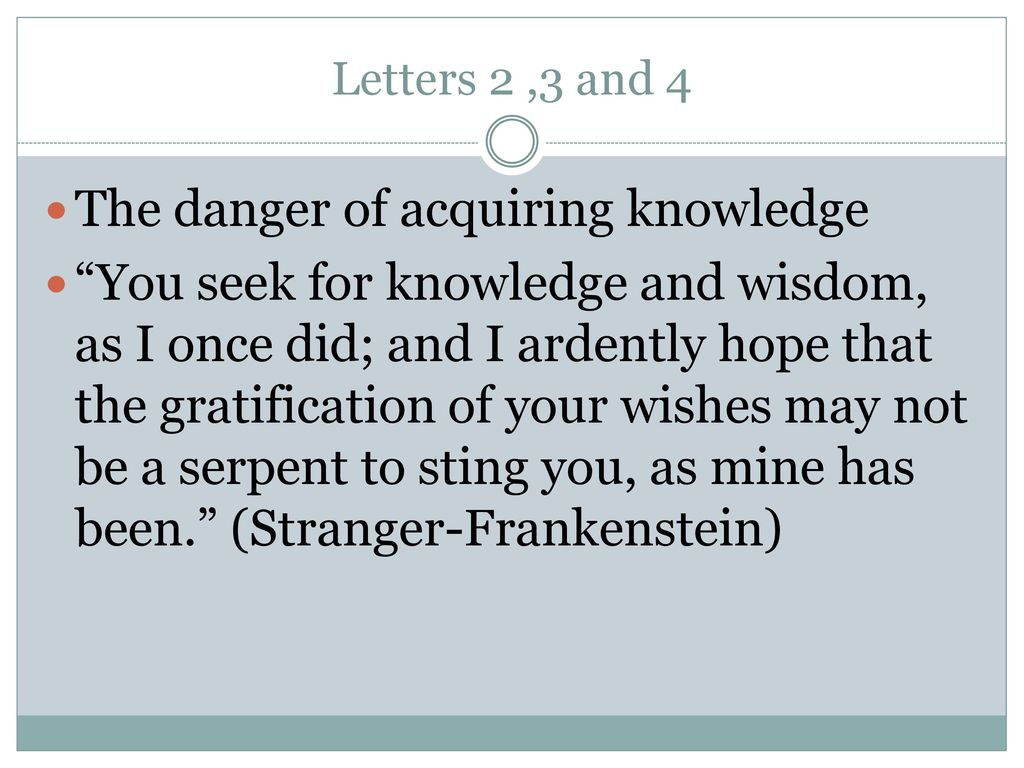 Frankenstein Letters.   ppt download