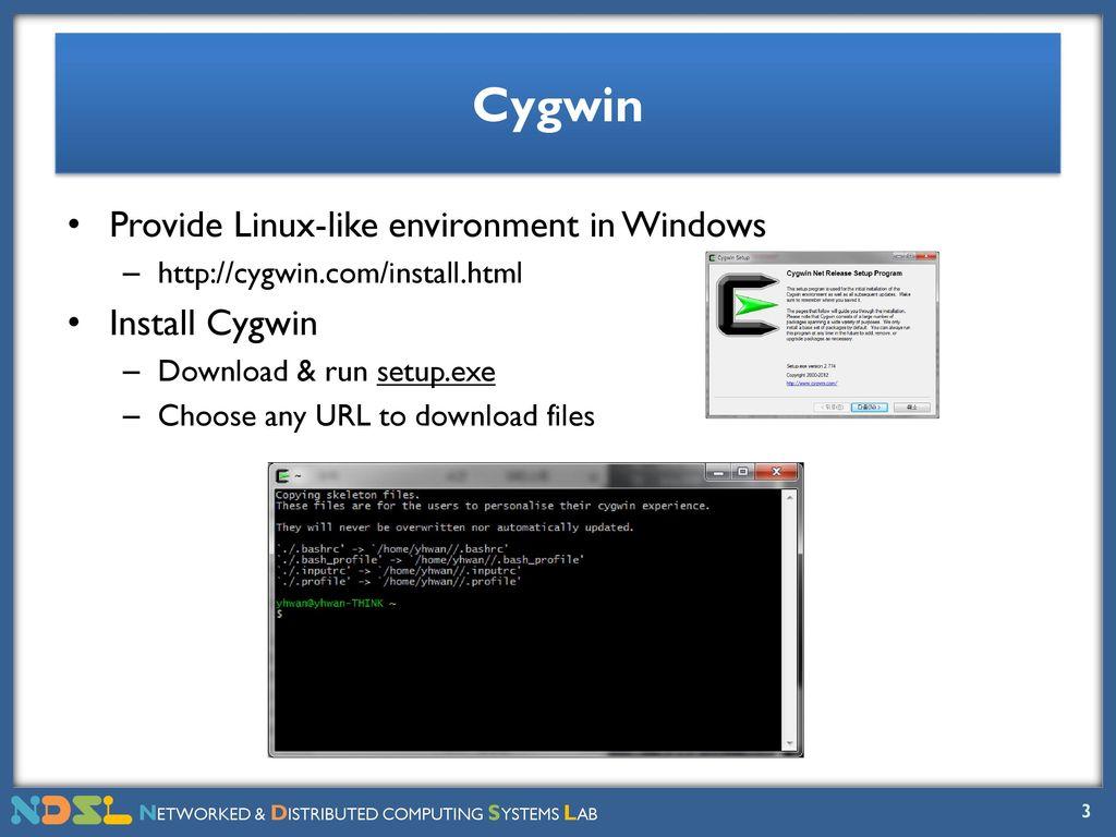 Precept I : Lab Environment, Unix, Bash, Emacs - ppt download