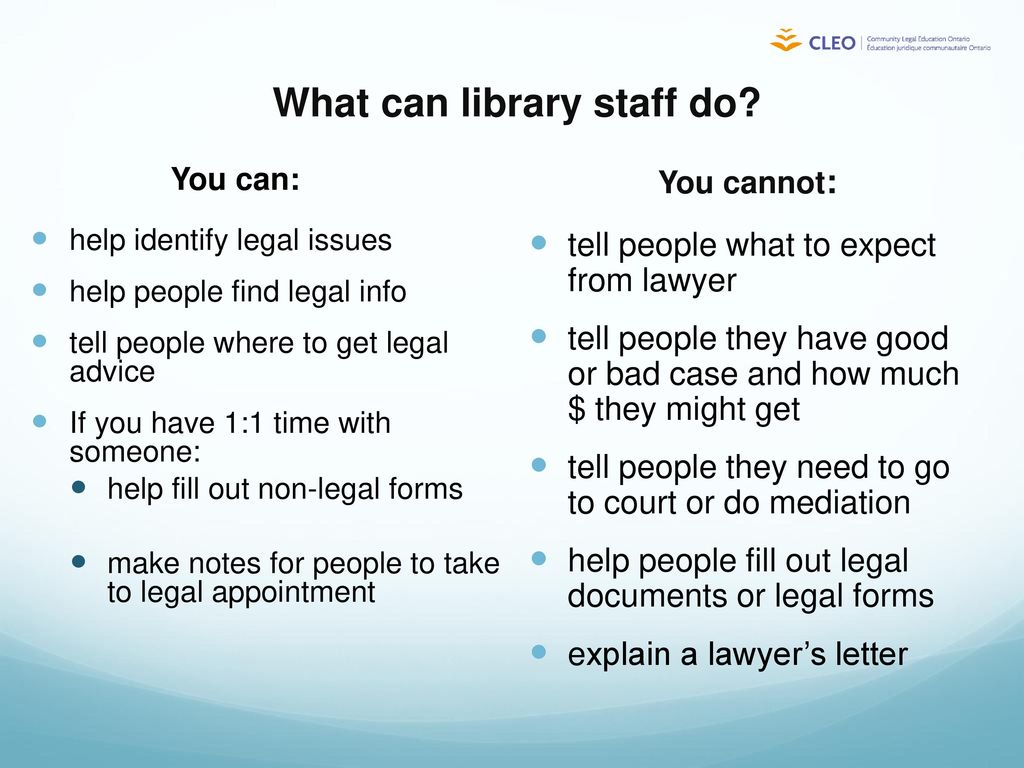 How To Help Library Patrons Find Good Legal Information Ppt Download - Help with legal forms