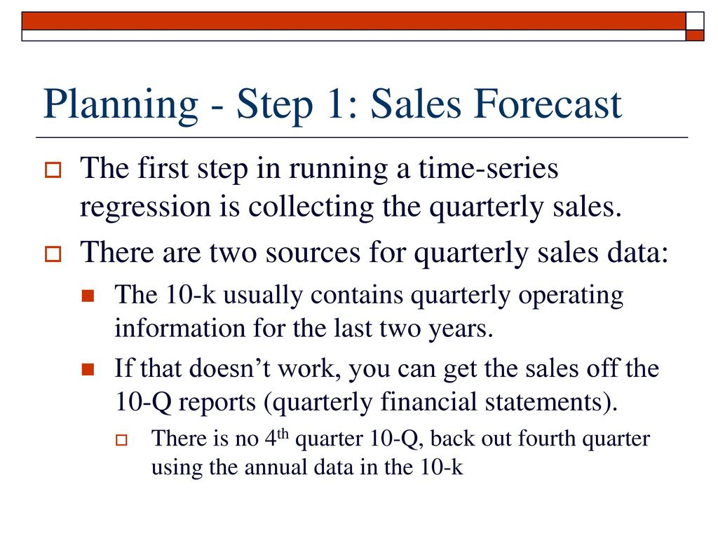 Financial forecasting and planning - the first step towards your goals 38