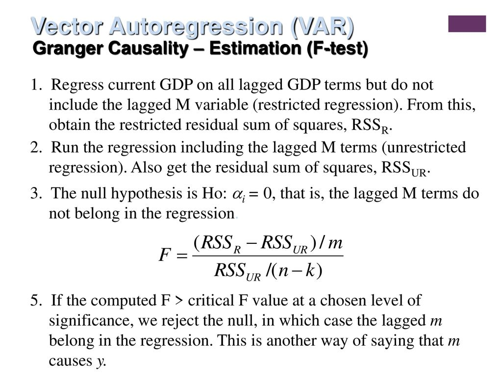 Time Series Econometrics - ppt video online download