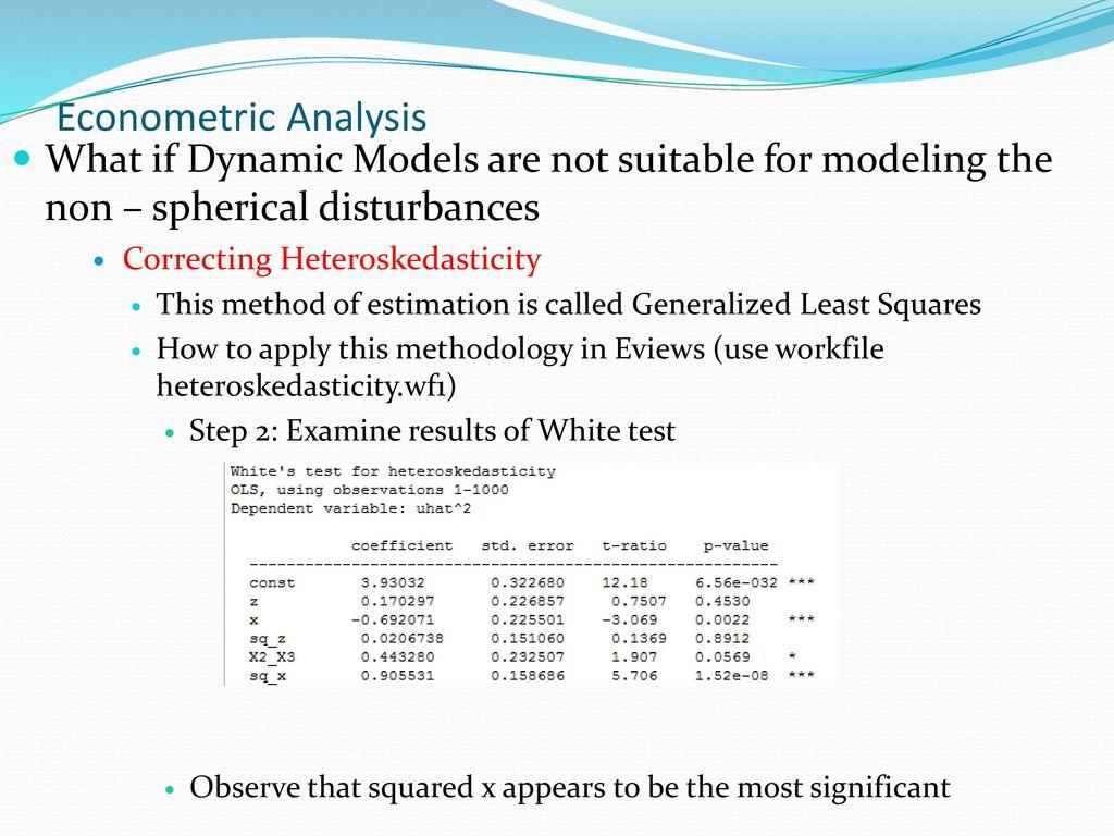 Financial Econometrics Lecture Notes 3 - ppt video online download