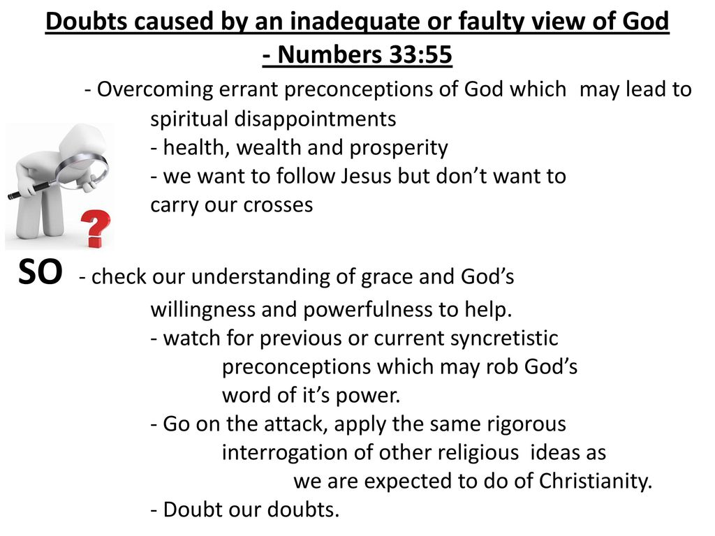Dealing with Doubts  - ppt download