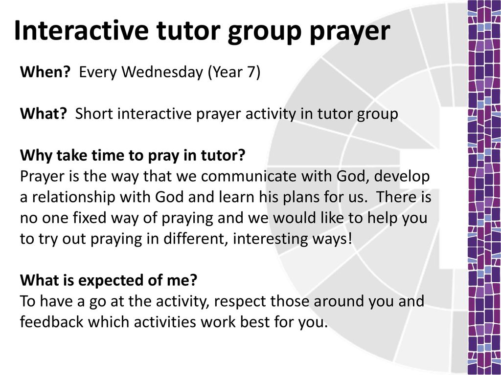 Chaplaincy: Tutor time - ppt download