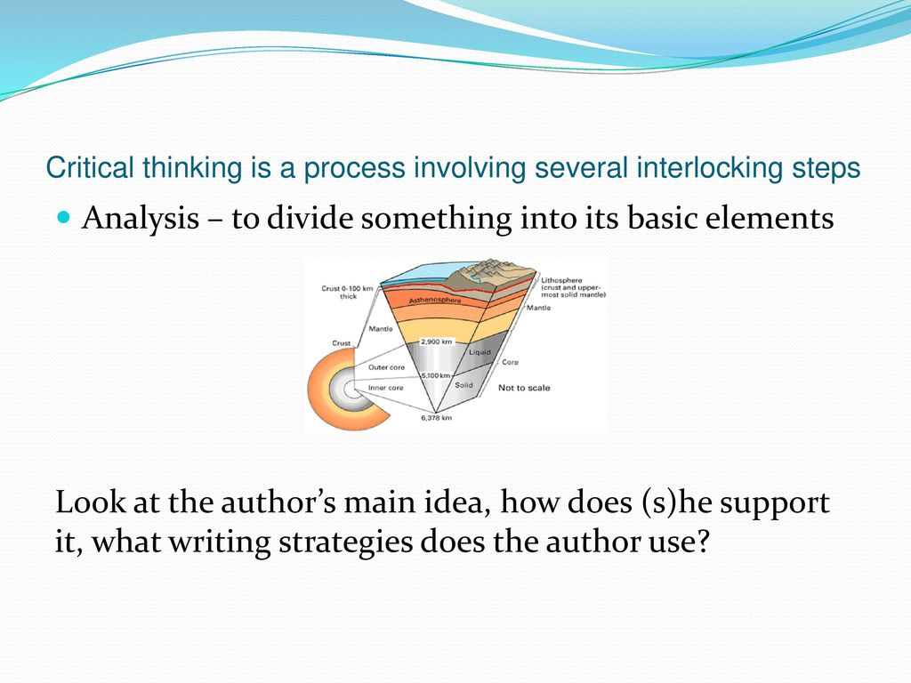 critical thinking is a process of mind essay For that reason, part of the process of improving one's critical-thinking skills is to solve problems in real-world contexts and to practice drawing connections between the abstract concepts of critical thinking and the facts on the ground.