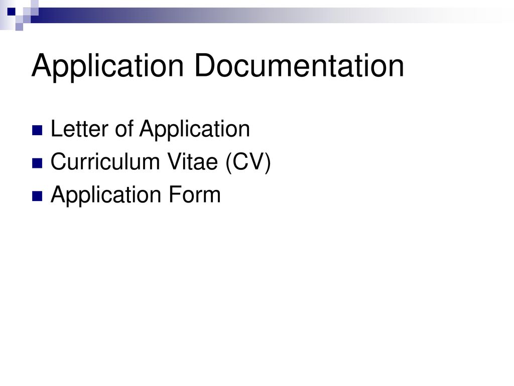 Application Documentation Ppt Download
