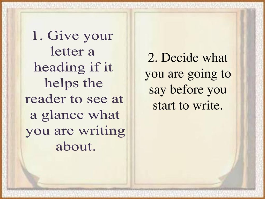 Golden Rules For Writing Business Letters Ppt Download