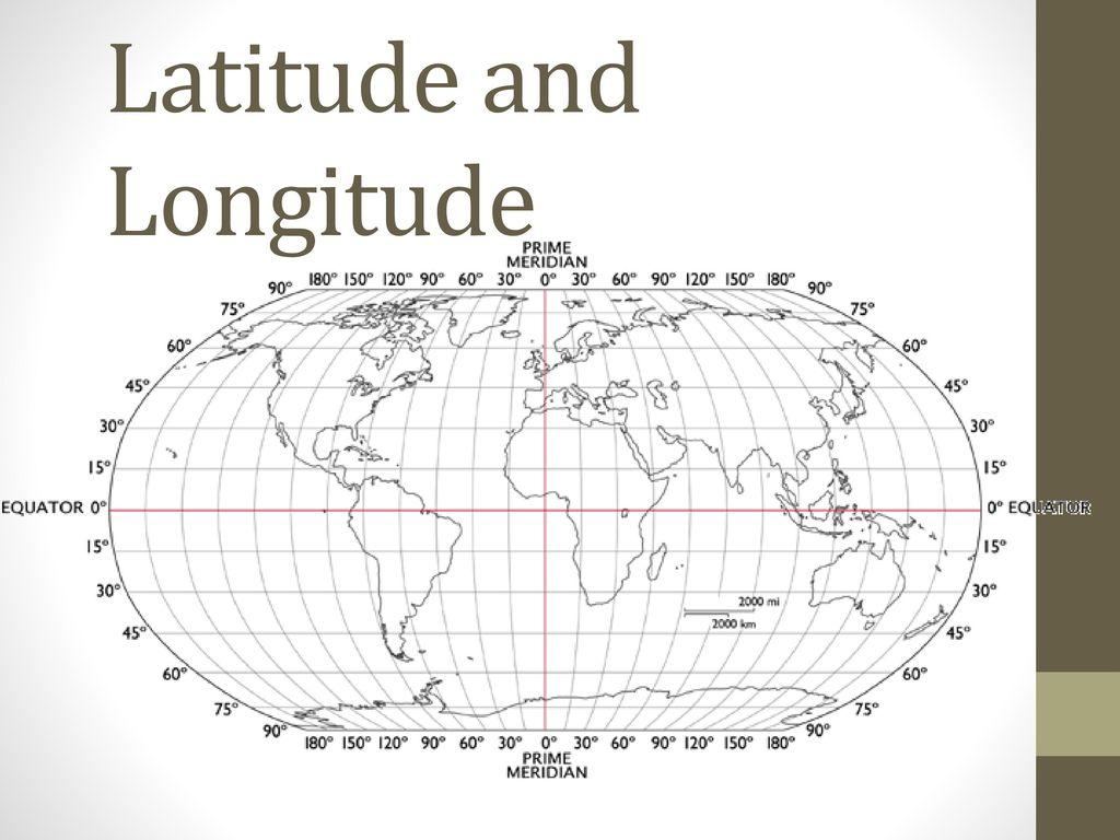 Warm- Up: Latitude Longitude Pre Test #7 - ppt download
