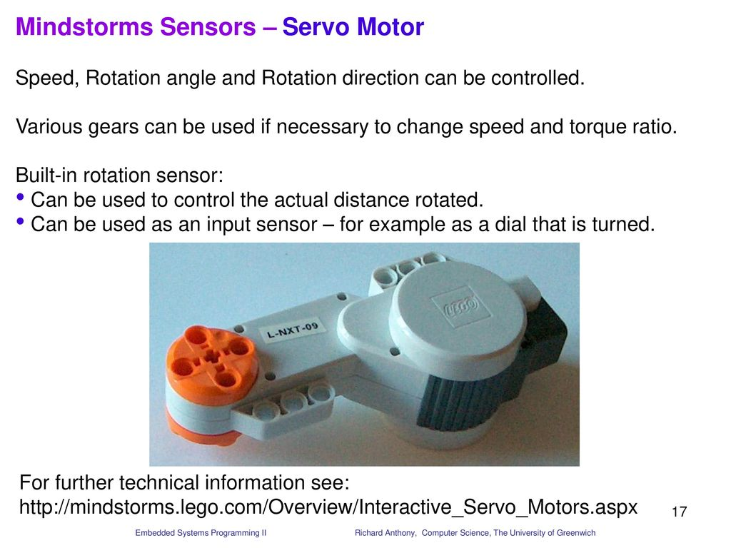 Introduction To Mindstorms Educational Robotics Equipment Ppt Download Electronic Ear For Lego Rcx Module Sensors Servo Motor