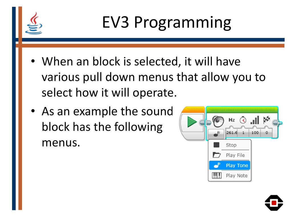 Introduction to LEGO Mindstorms EV3 What is in the box? - ppt video