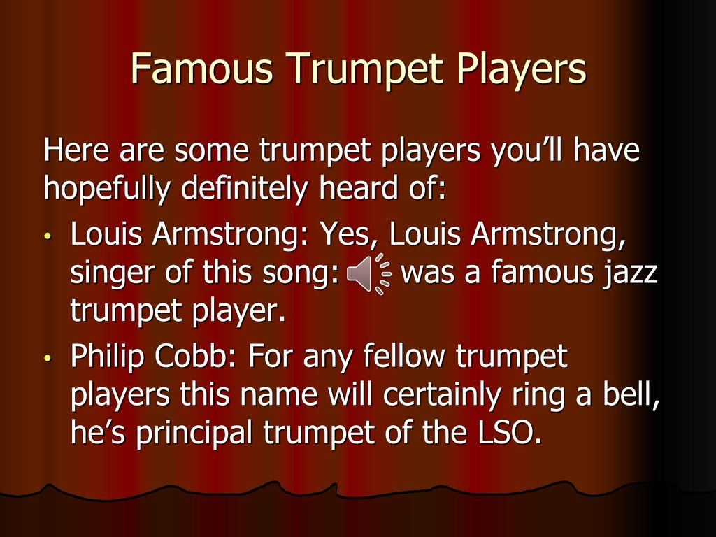 Famous Jazz Trumpet Songs