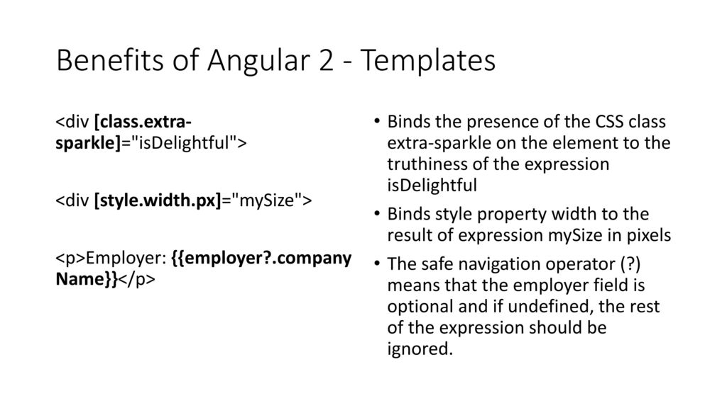 An introduction to Angular 2 - ppt video online download