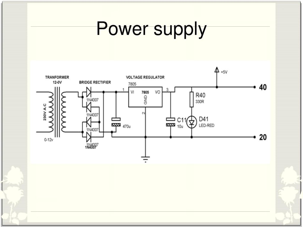 Arduino Based Underground Cable Fault Detection Ppt Video Online Tube Clock Schematic Get Free Image About Wiring Diagram 5 Power Supply