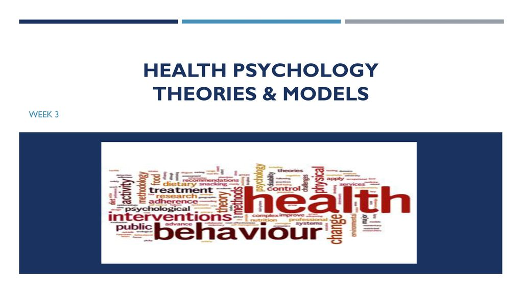 health psychology theories models