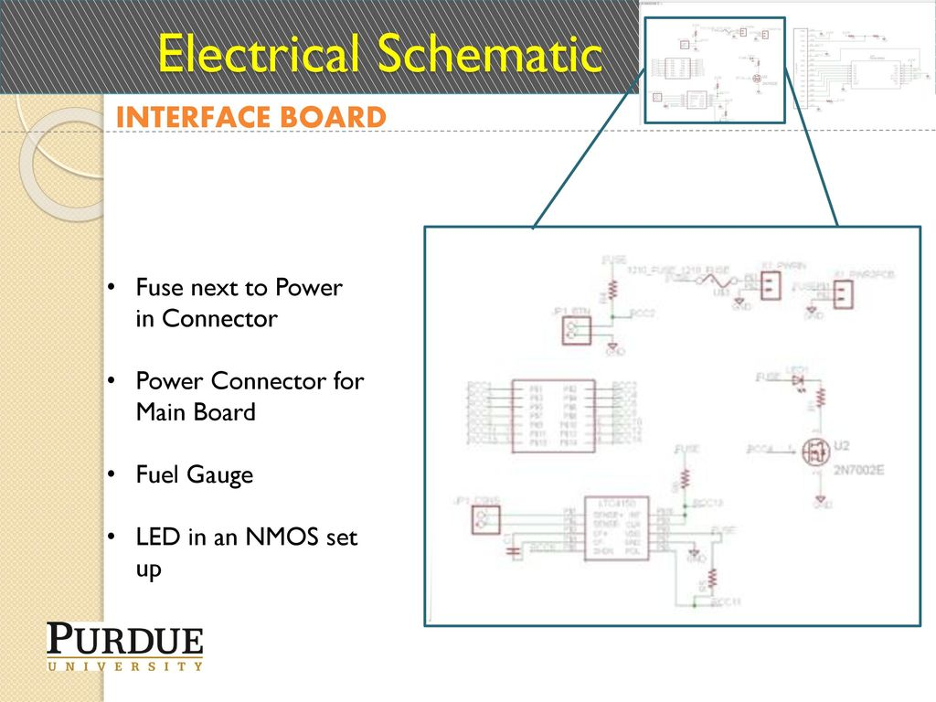 Ece477 Midterm Design Review Team 1 Ppt Download Know If It Will Be Readable But Here Is A Wiring Diagram Of Fuse C 20 Electrical Schematic Interface Board