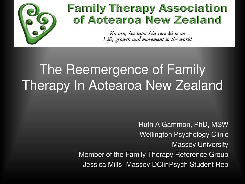 The reemergence of family therapy in aotearoa new zealand ppt download the reemergence of family therapy in aotearoa new zealand malvernweather Choice Image
