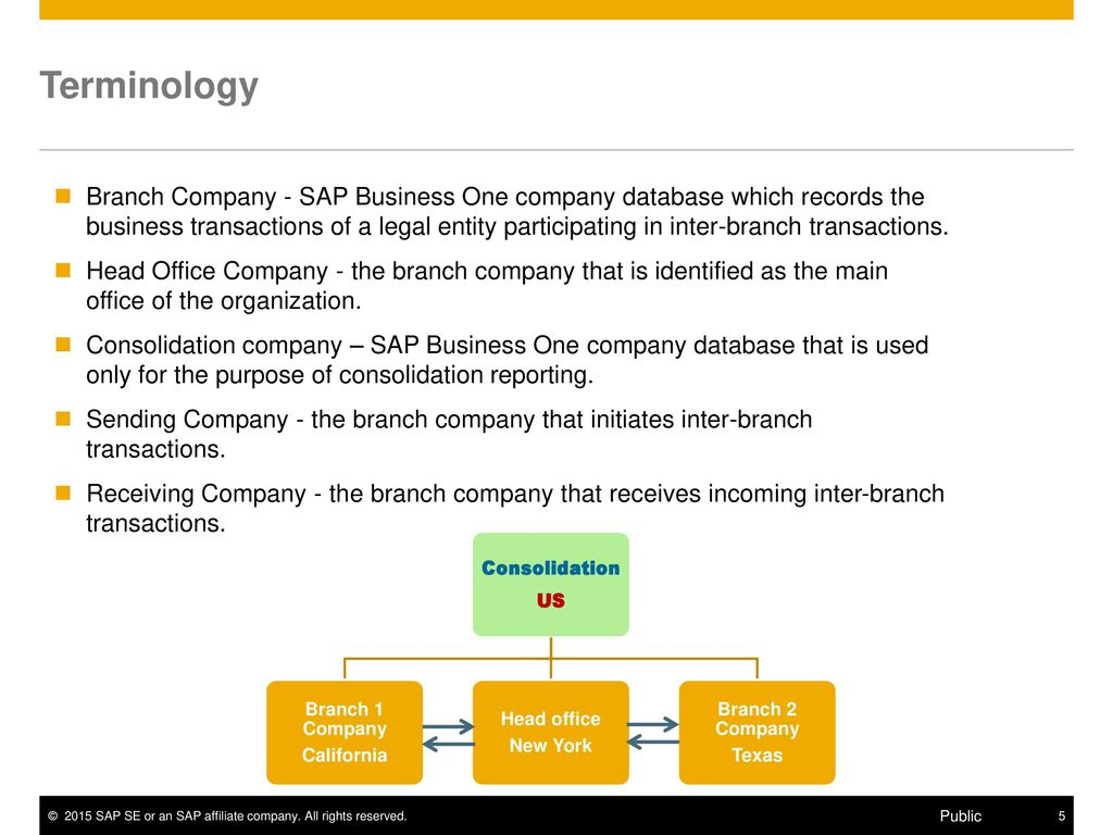 Introduction The Intercompany Integration Solution for SAP