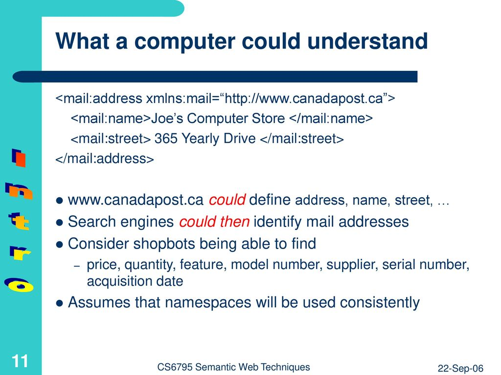 Introduction to the Semantic Web - ppt download