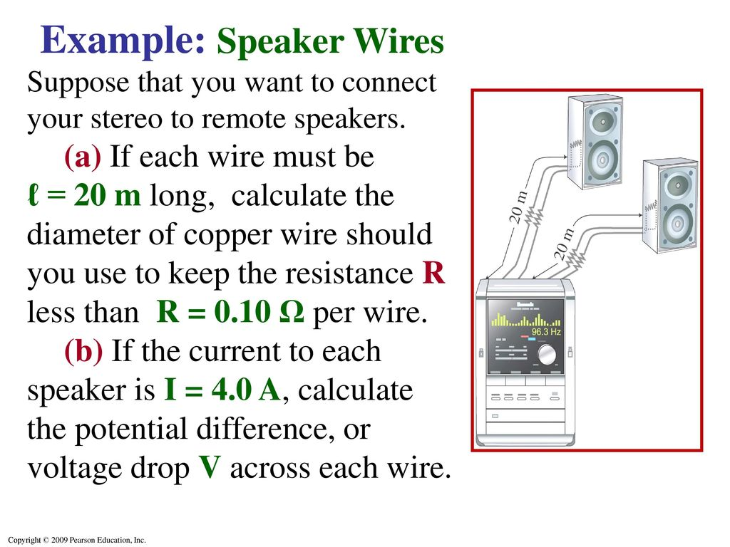 Ohms law resistance resistors ppt video online download example speaker wires keyboard keysfo Gallery