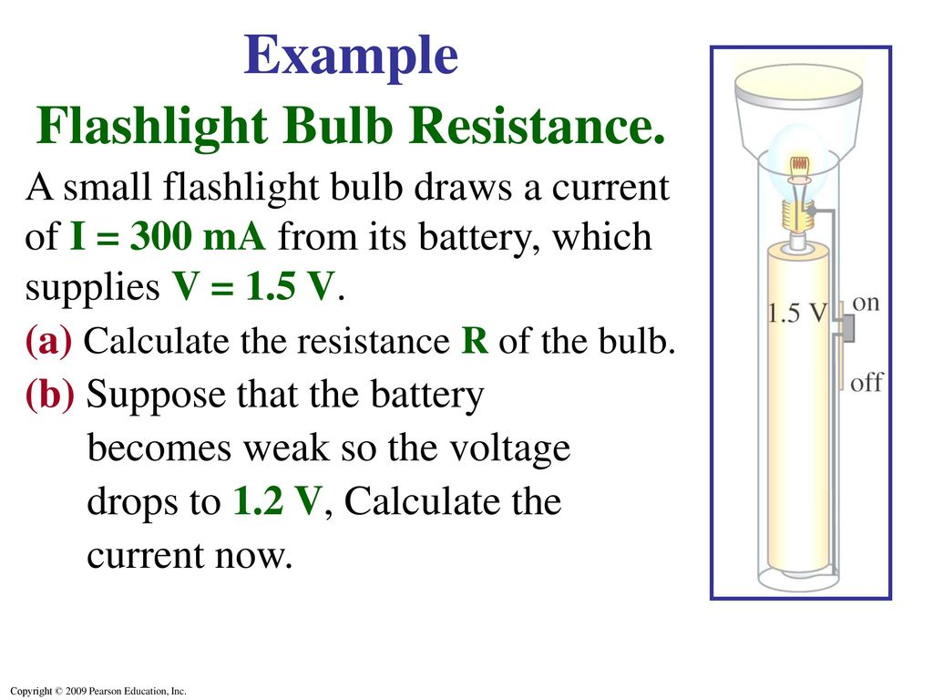 Ohms Law Resistance Resistors Ppt Video Online Download The Can Be Used To Work Out Voltages And Currents Flashlight Bulb