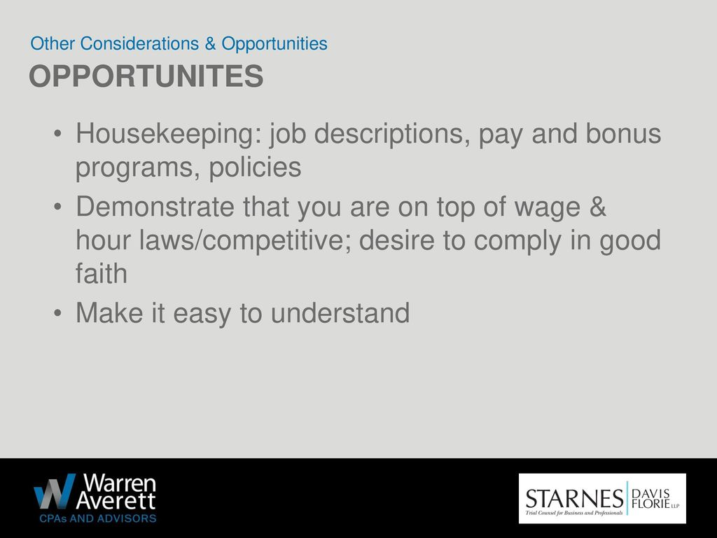 THE OVERTIME RULE: WHAT YOU NEED TO KNOW - ppt download