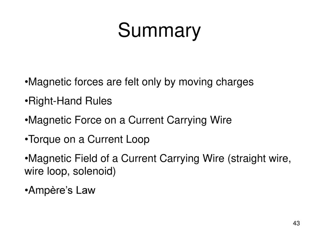 Chapter 19: Magnetic Forces and Fields - ppt download