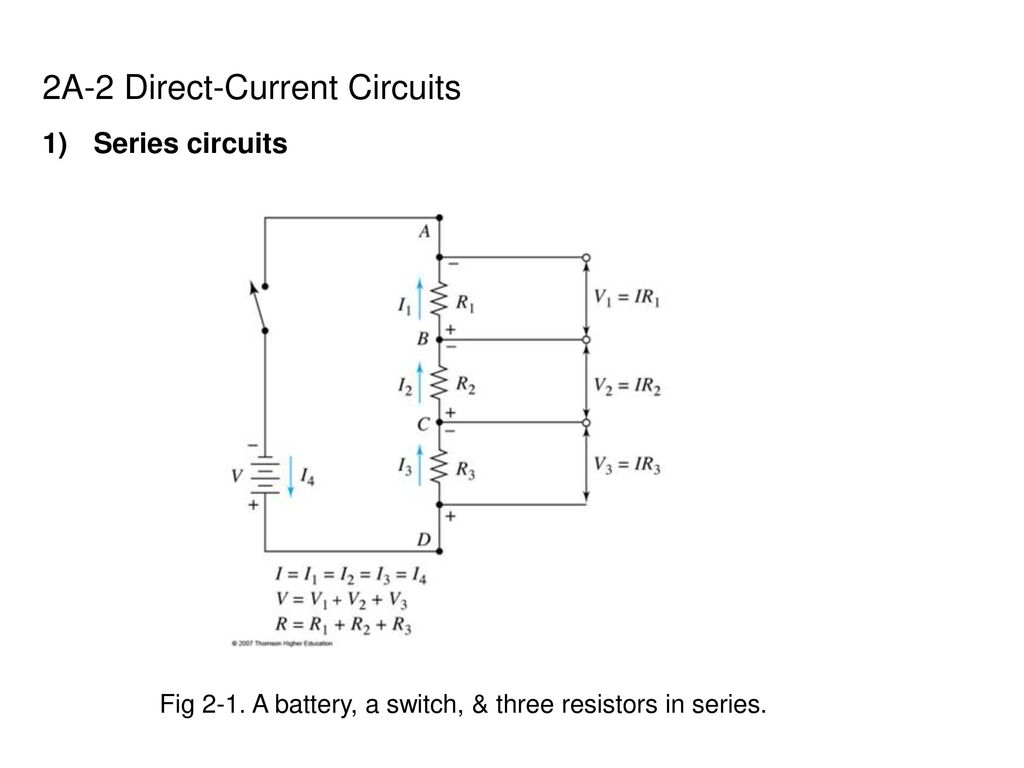 Chapter 2 Electrical Components And Circuits Ppt Download Low Pass Filter Circuit Diagram Basiccircuit 2a Direct Current