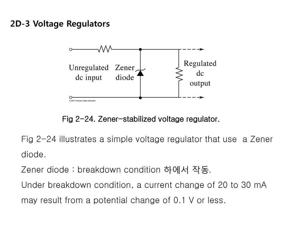 Circuito Zener : Chapter 2. electrical components and circuits components. ppt download