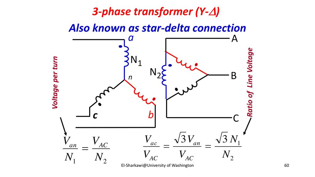 Delta Star Transformer Calculations