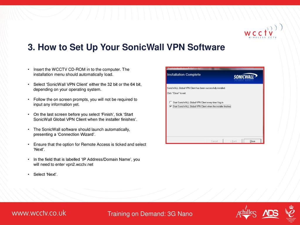 Training on Demand: 3G Nano - ppt download