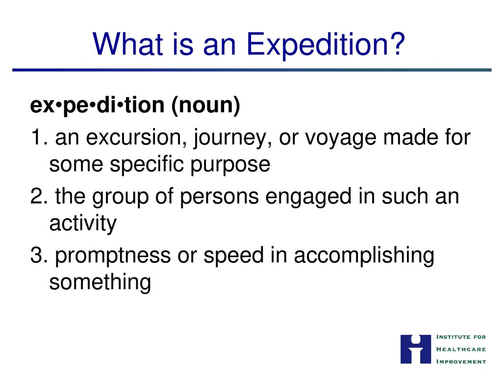 What is an excursion