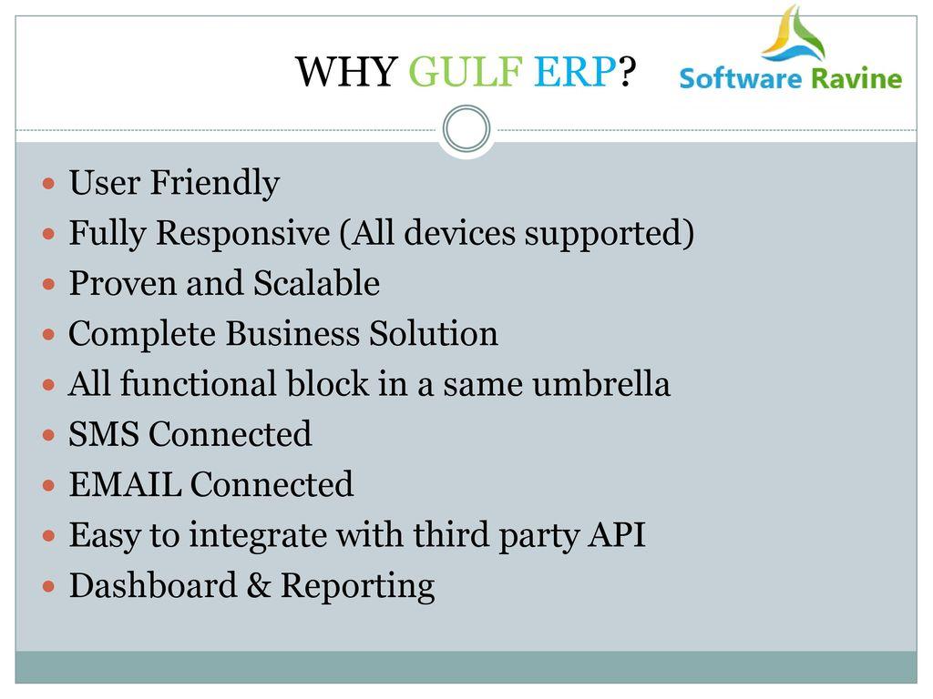 GULF ERP ppt download
