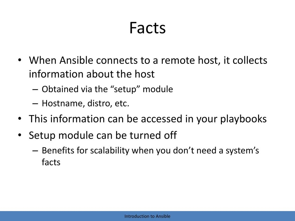 Introduction to Ansible - ppt video online download