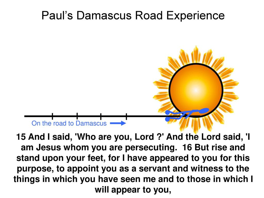 paul experience on damascus road