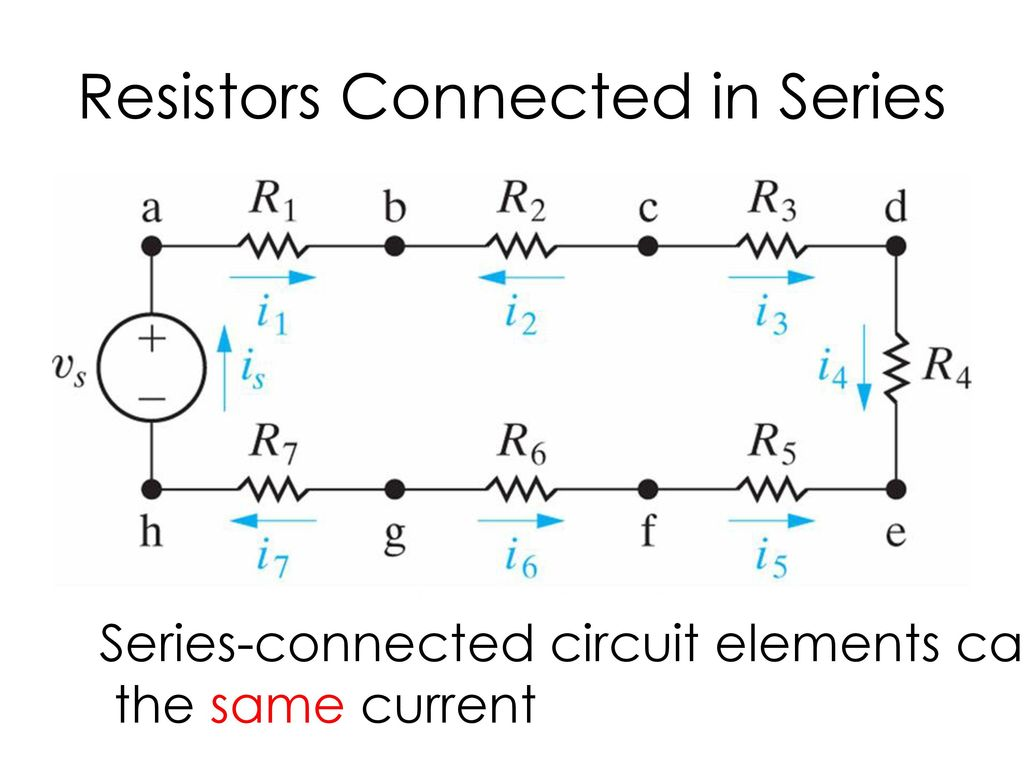 Series Parallel Circuits Ppt Download Resistors In And Connected