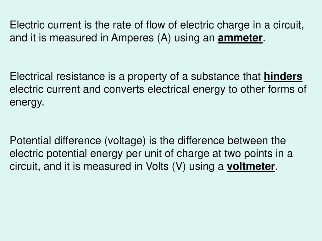 11.2 Electric Circuits: Analogies and Characteristics (Pages ) - ppt ...
