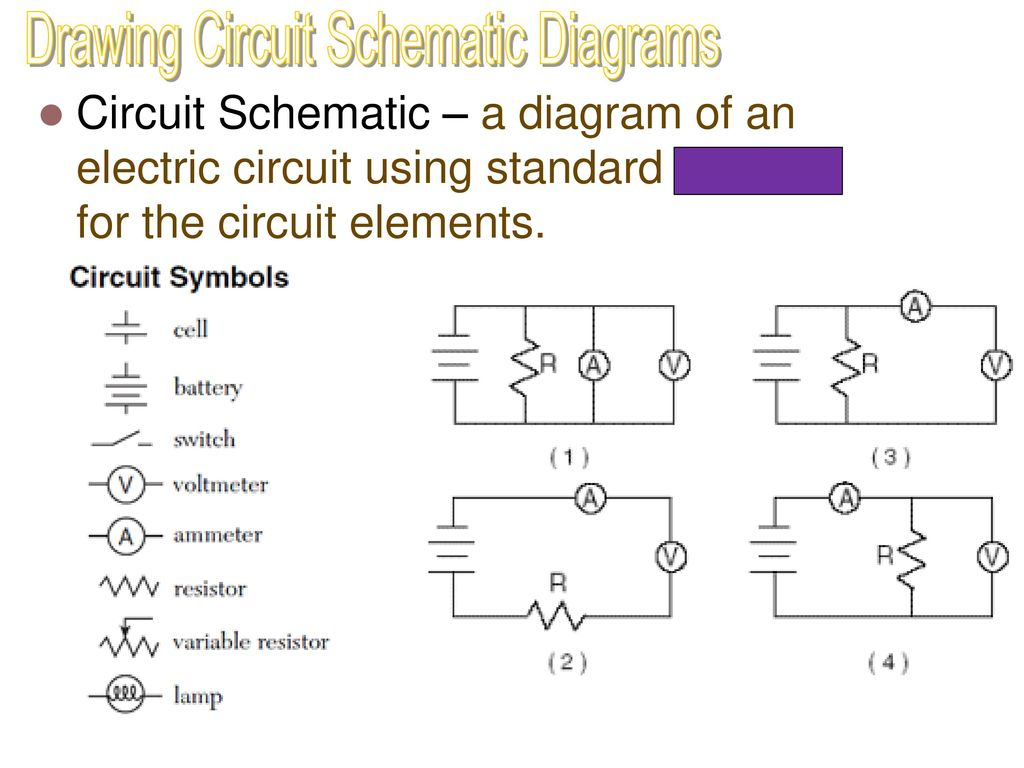 Meters In A Circuit Voltmeter Device Used To Measure Potential Diagram Of Drawing Schematic Diagrams