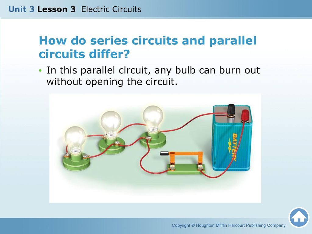 Unit 3 Lesson Electric Circuits Ppt Video Online Download Circuit Series How Do And Parallel Differ